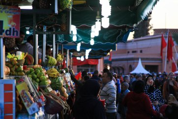 Place Jemaa el-Fna.