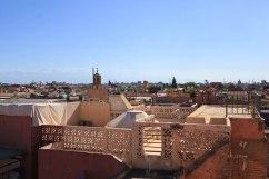 Panorama sur les toits de Marrakech.
