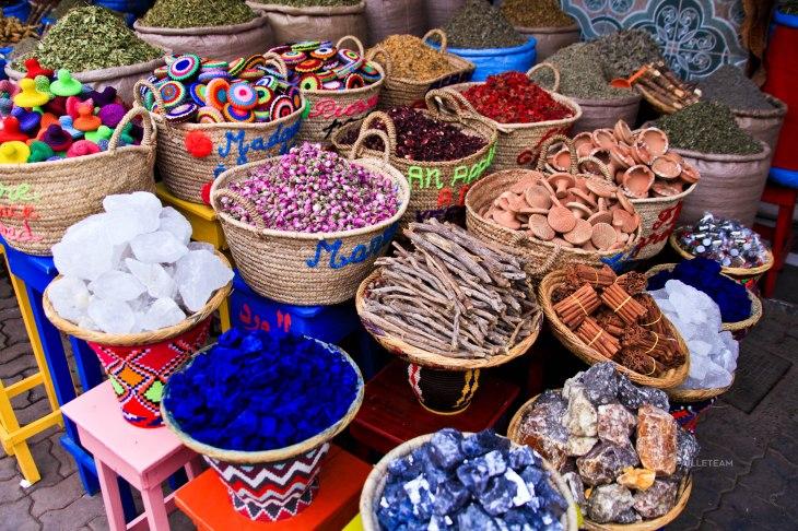 Le marché aux épices.