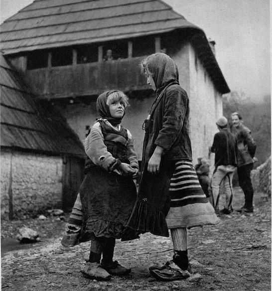 Photo de Giuseppe Massani, faite en Albanie durant les années quarante.