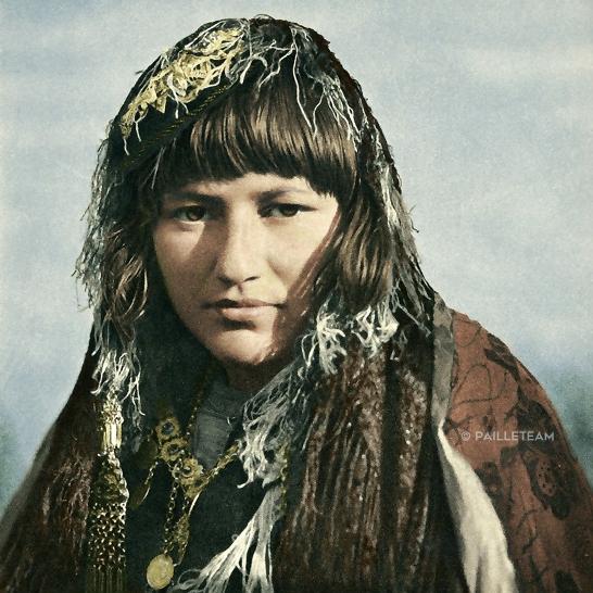 Jeune femme - 1940 - Guiseppe Massani - color